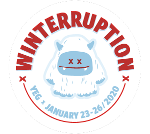 Winterruption YEG from Thu Jan 23 to Sun Jan 26, 2020